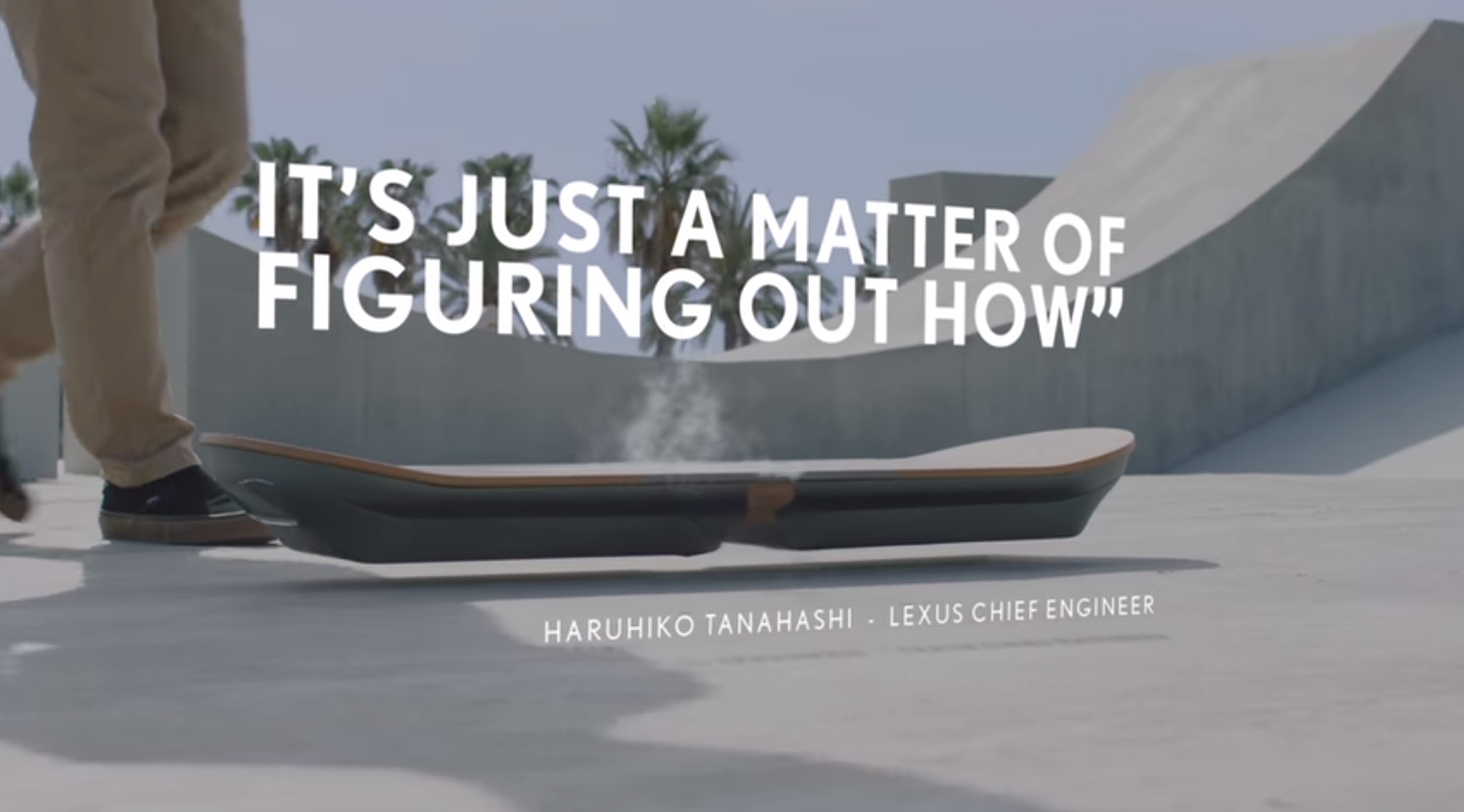 How Much Is A Hoverboard >> Hoverboards Are Real But Lexus' Flying Skateboard Doesn't ...