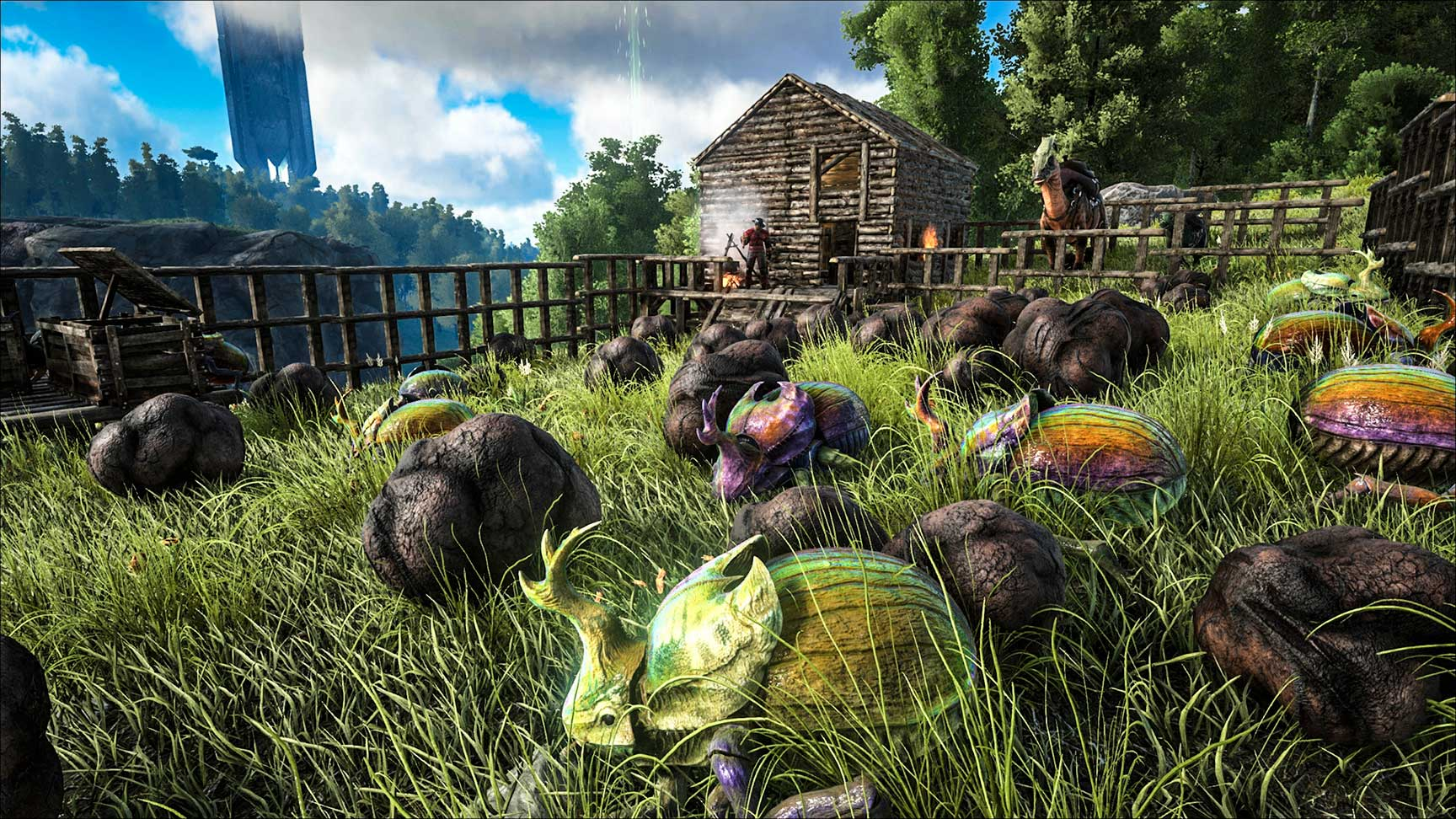 Ark Survival Evolved Tips 5 Best Dinos For Farming How To Tame Them Guide Player One