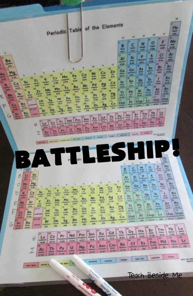 This mom made a periodic table battleship game for her kids and this mom made a periodic table battleship game for her kids and its brilliant player urtaz Gallery