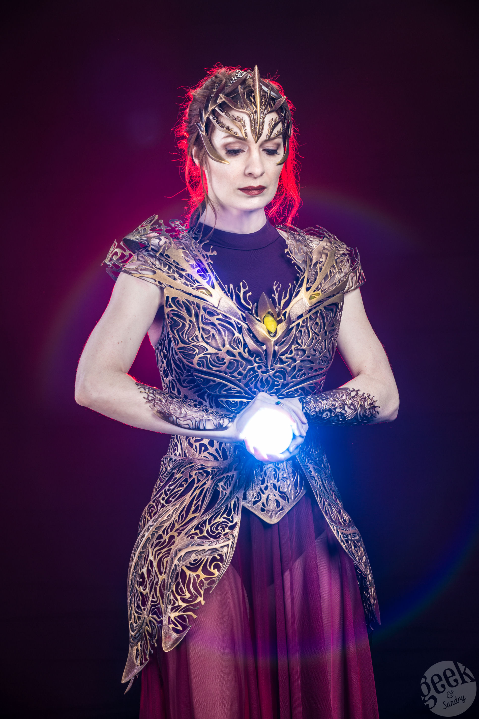 Felicia Day Models Incredible 3D-Printed Elven Dream Goddess