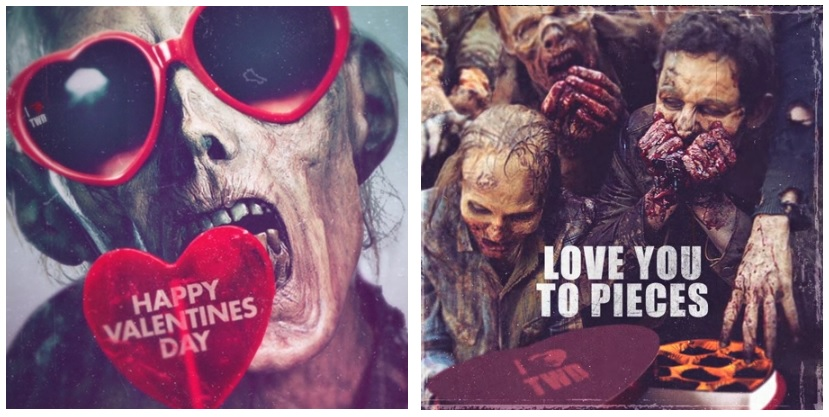 U0027The Walking Deadu0027 Valentineu0027s Day Cards, Hallmark Debuts Four ECards To  Celebrate Season 6 Return | Player.One