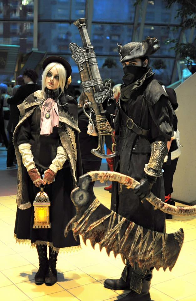 Cosplay Pic Of The Day Bloodborne Hunter And Doll