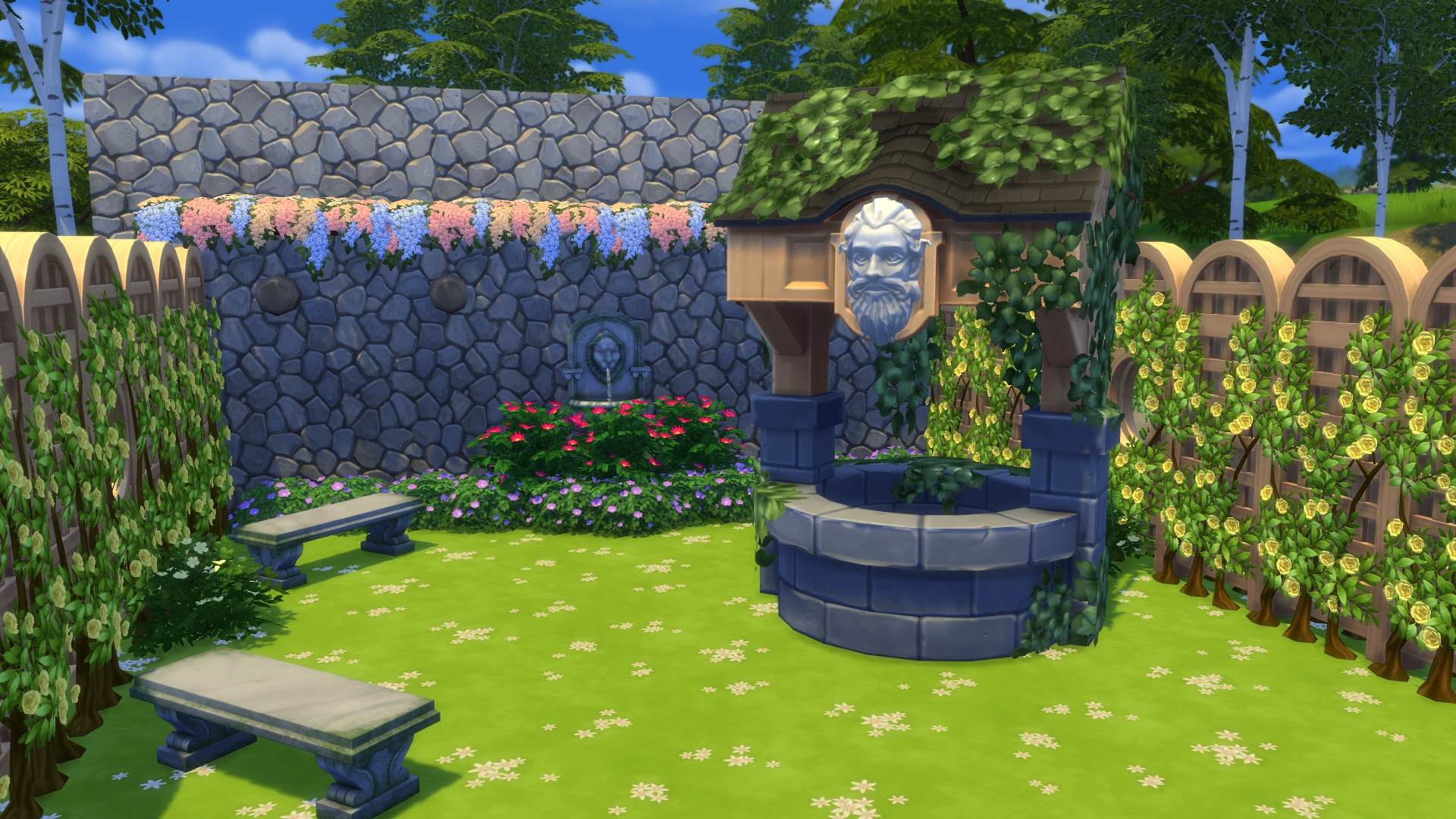 The sims 4 stuff pack review romantic garden brings for Indoor gardening sims 4