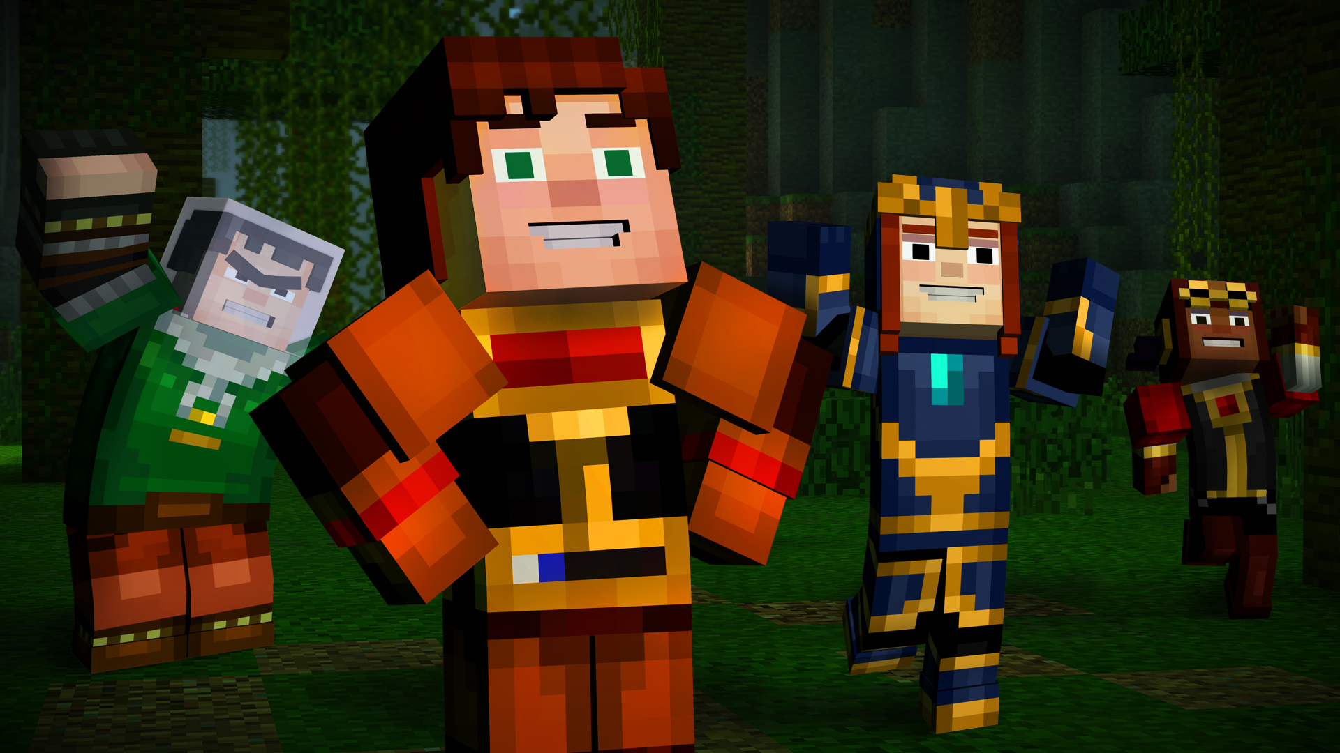 Minecraft Story Mode Episode 5 Launch Trailer Sets Stage For Jesse S Next Adventure Player One