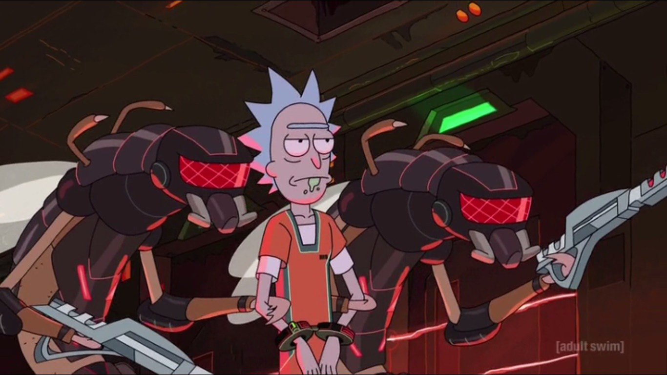Rick And Morty' Co-Creators Reveal What's In Rick's Flask, Destroys