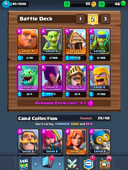 Best Clash Royale Decks And Strategies Arena 3 6 Get 1200 1900 Trophies With This Card Combo Guide Player One