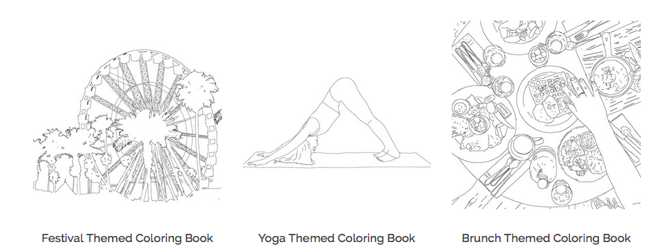 Color Me Book\' Website Turns Your Instagram Pictures Into A Coloring ...