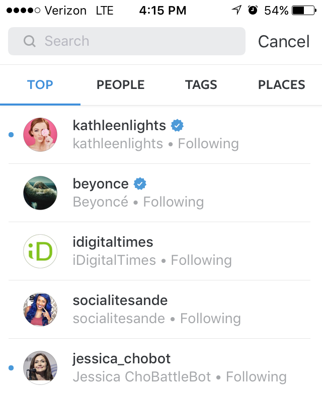 What Does The Blue Dot On Instagram Mean? Well, It Depends But It's