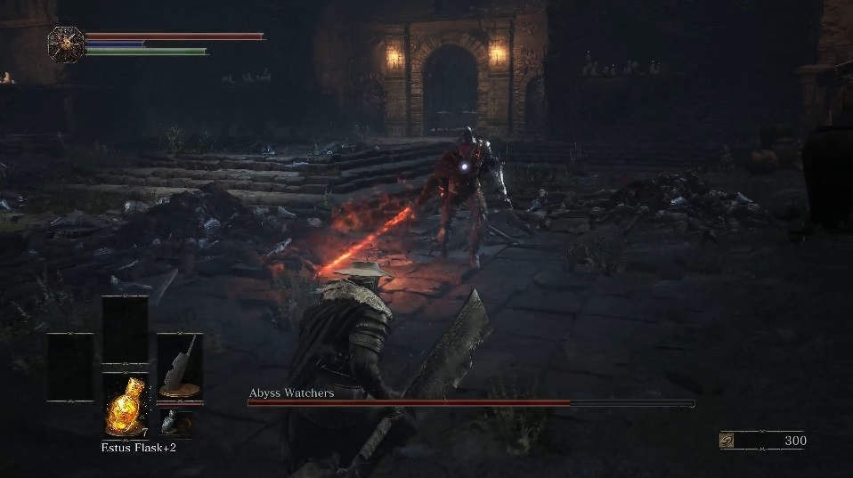 39 dark souls 3 39 guides how to beat the abyss watchers - Watchers dark souls 3 ...
