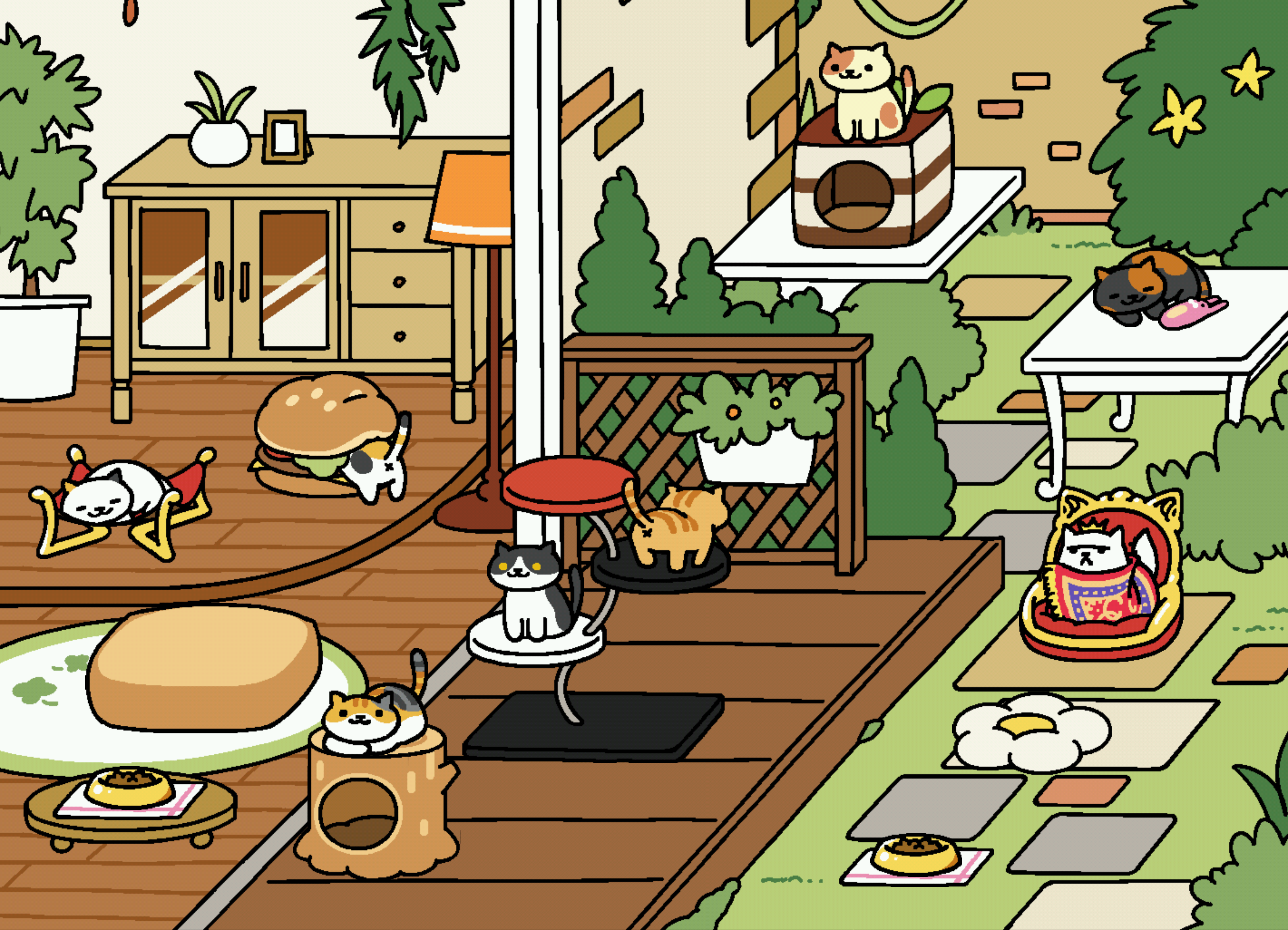 Neko Atsume Cats Guide Frosty And 4 Other Hard To Get Felines