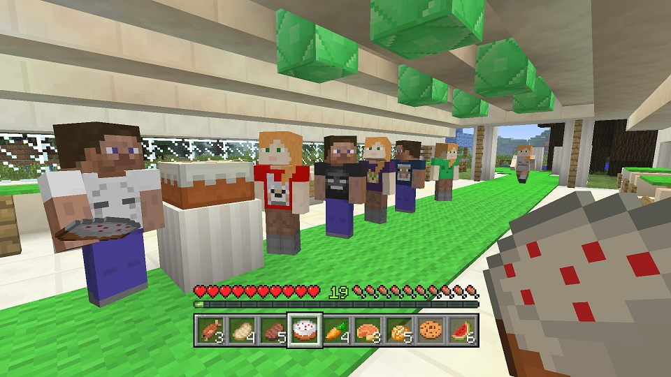 'minecraft xbox one edition' gets free skin pack to