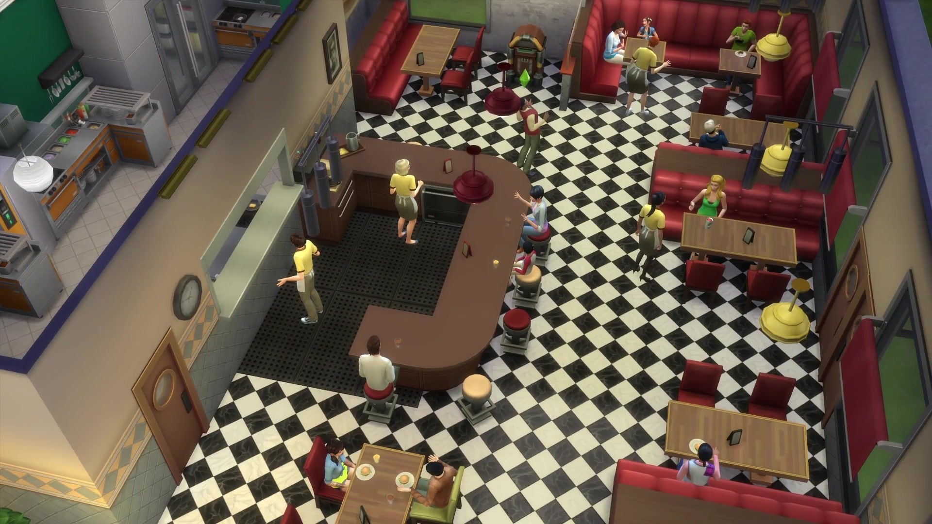 The Sims 4 Dine Out Trailer What S In The Restaurant Game Pack Every Feature Revealed So Far Photos Player One