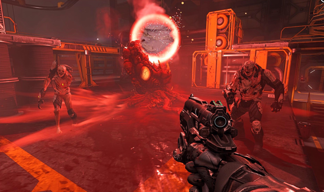 DOOM Gameplay Game Developers Please Steal These Mechanics