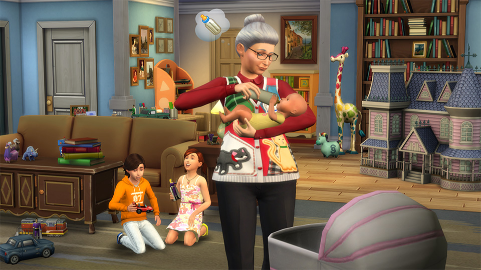 The Sims 4' Update: How To Hire The NPC Nanny And Adjust Lighting By