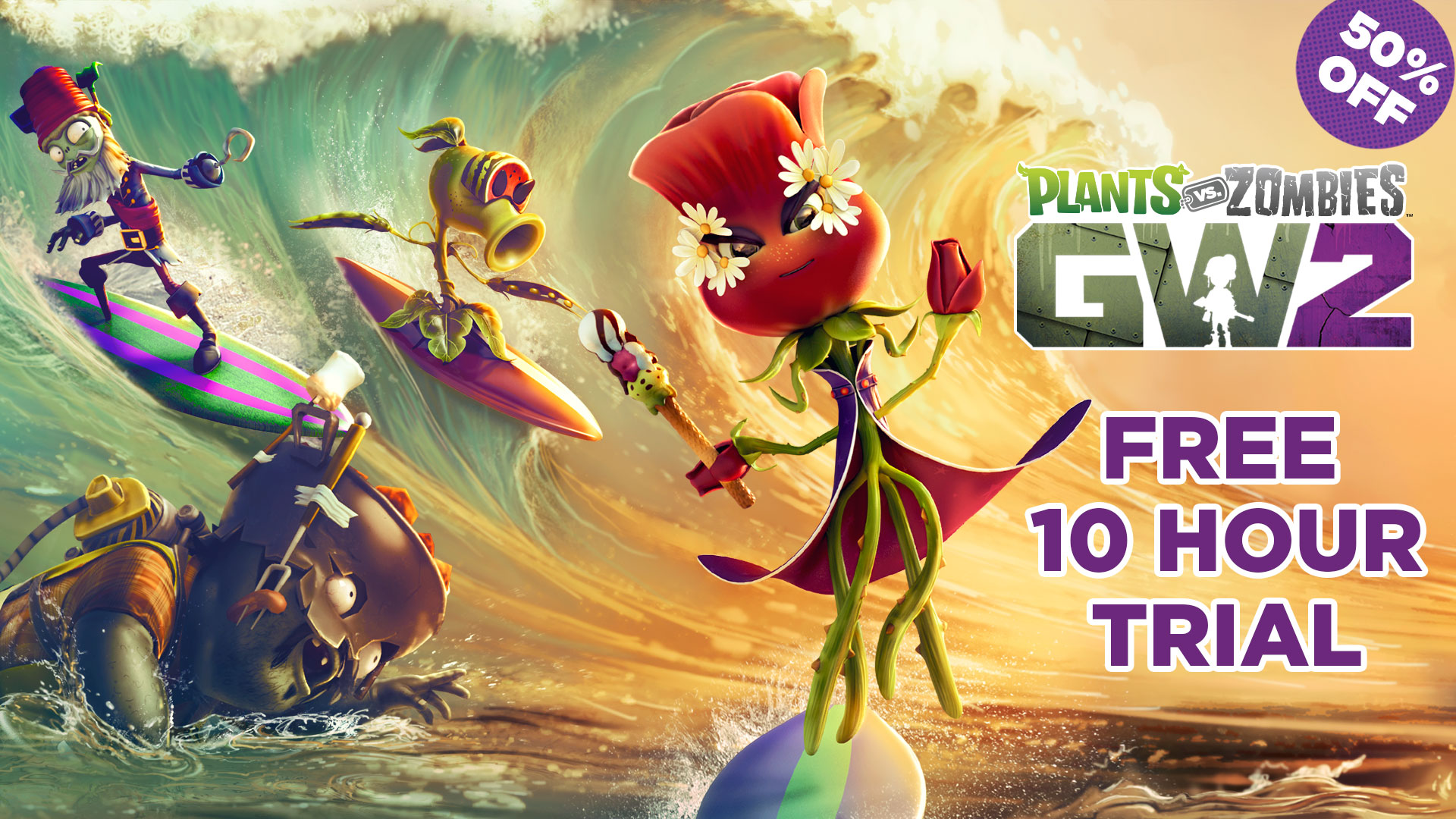 if off plants you garden player warfare released demo one free vs trial pvz zombies hour play