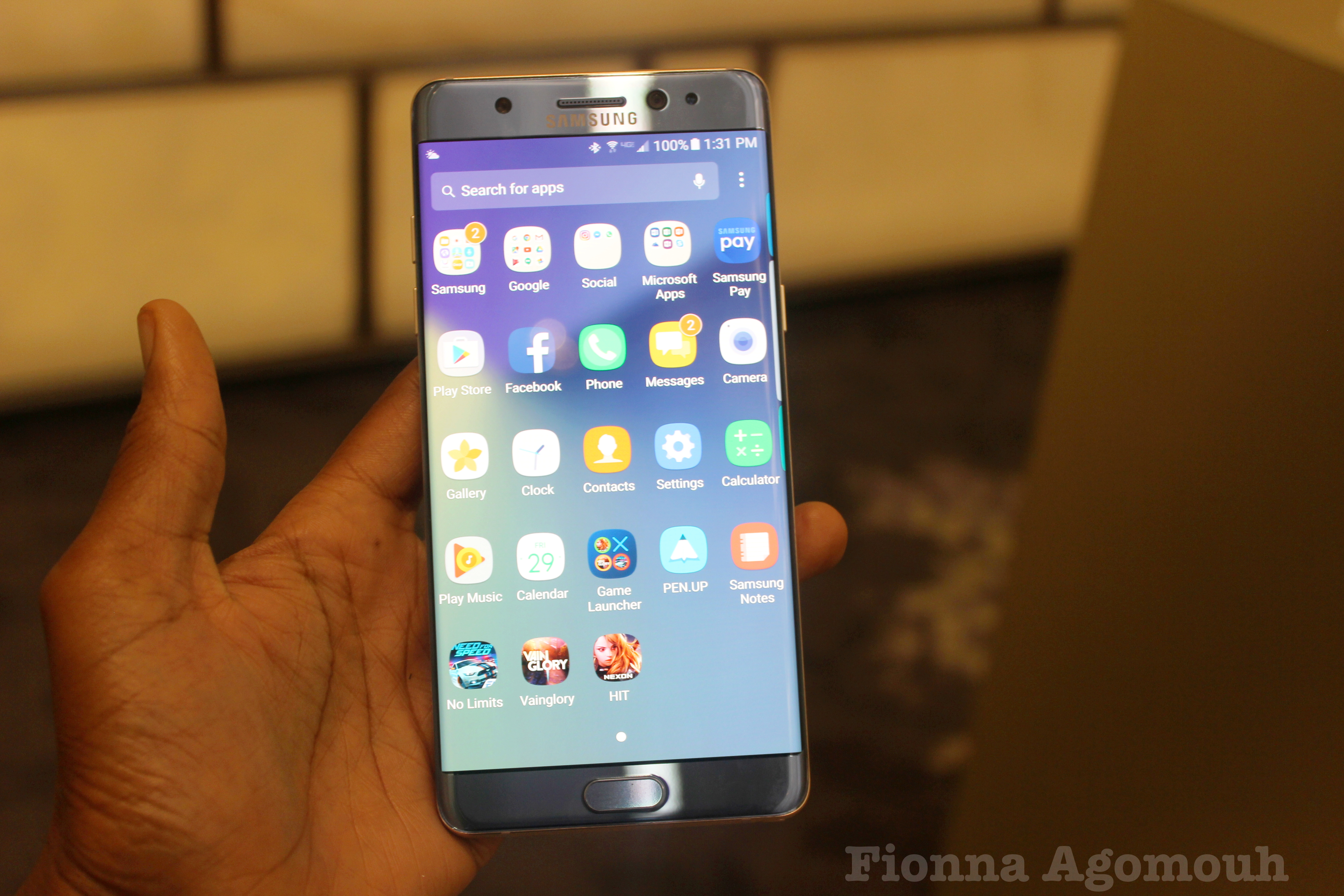 Samsung Galaxy Note 7 Release Date Specs And Features Hands On Look At 2016 Flagship PHOTOS