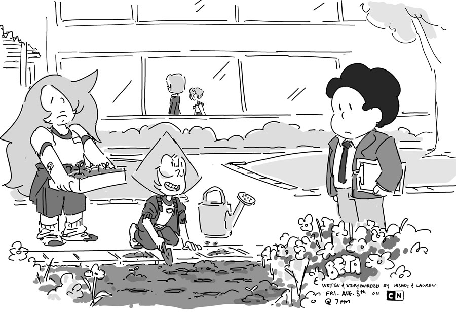 Watch Steven Universe Episode Beta And Earthlings
