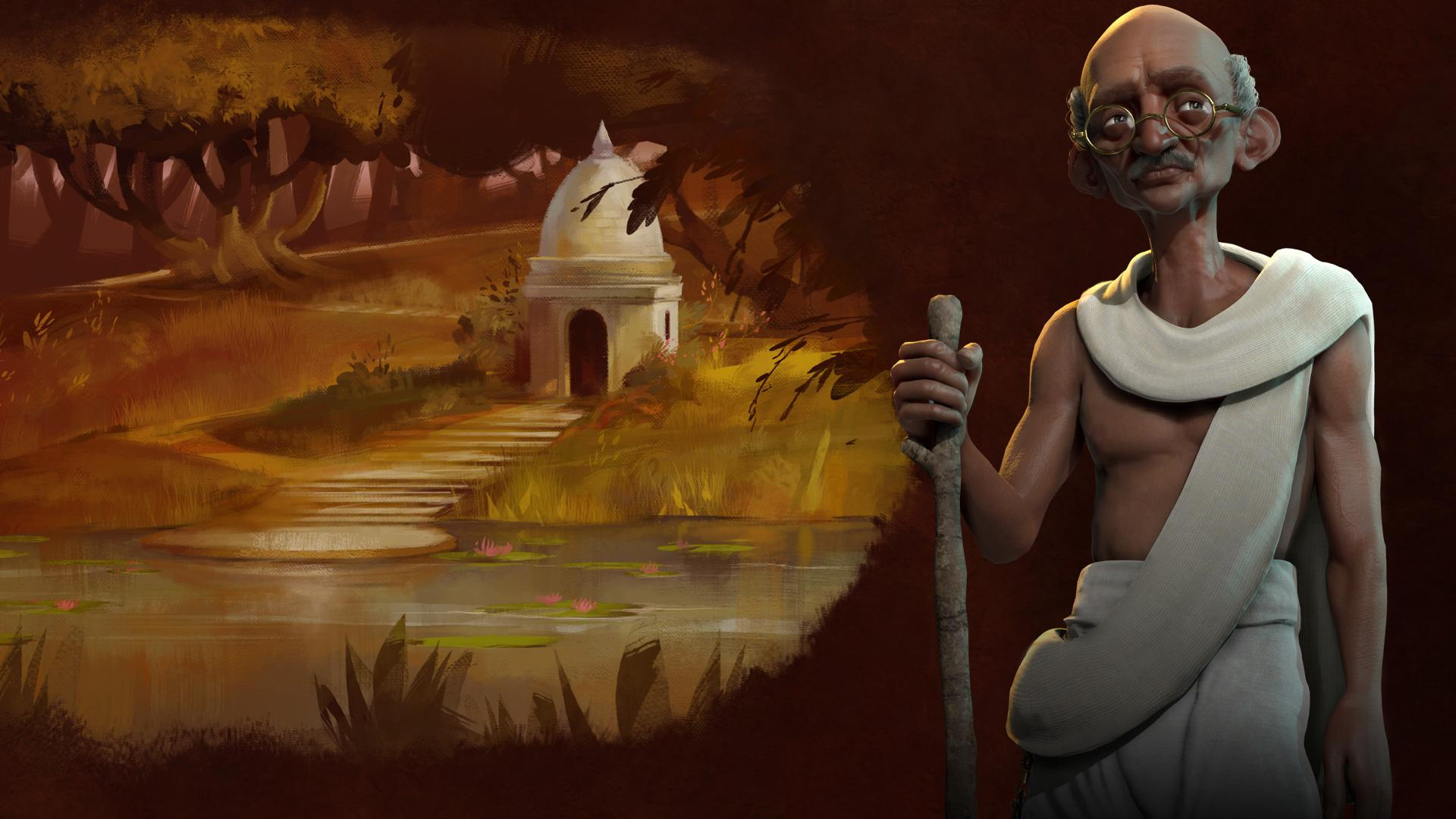 Civilization 6': It's Not 'Civ' Without Gandhi Leading India To