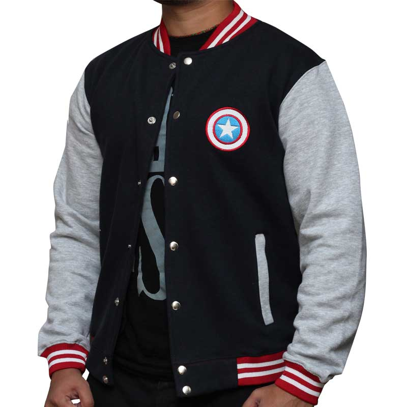 Celebs Clothing Review Superhero Varsity Jackets Are Cool Casual Geek Wear Perfect For Fall Player One