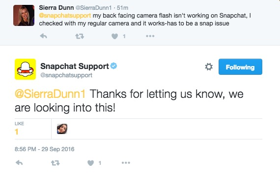 Snapchat Back Camera Flash Not Working? New Update Causing