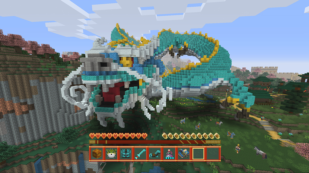 Minecraft console edition update new dlc adds cute stuff skips minecraft console edition update new dlc adds cute stuff skips big stuff player freerunsca Images