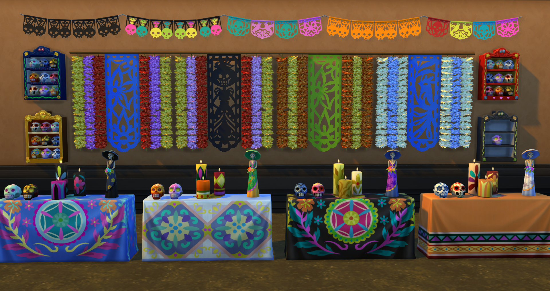 The Sims 4' Update: Jasmine Holiday 'Day Of The Dead