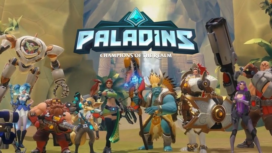 This Isnt Game >> 'Paladins' First Impressions: It Isn't 'Overwatch' But It's Close | Player.One