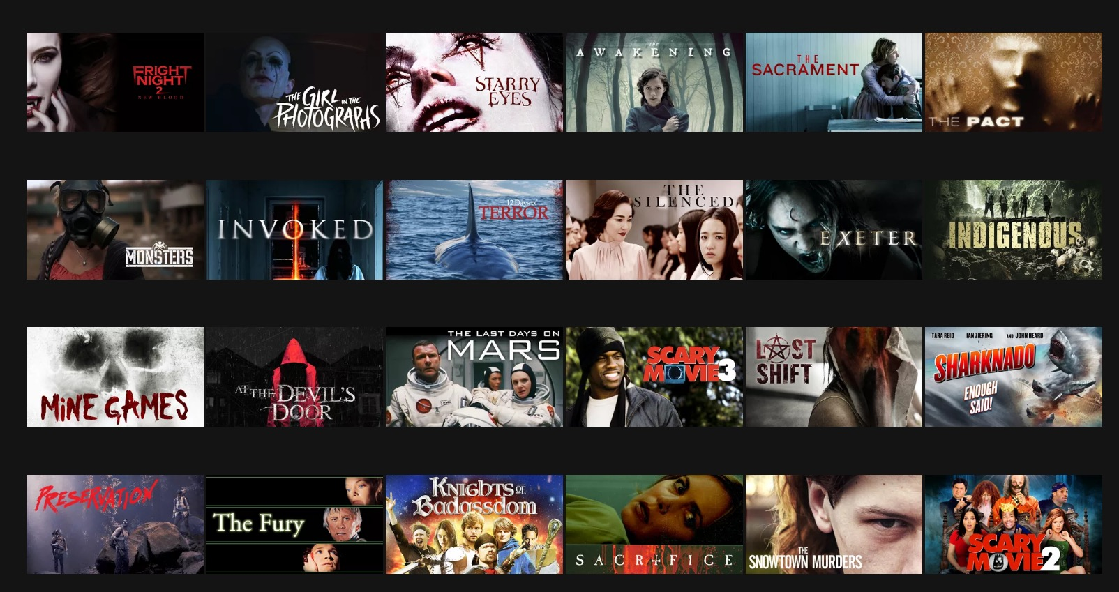 Netflix Horror Movies 2016: How - 352.3KB