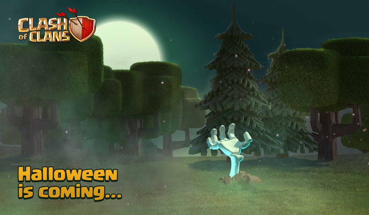 Clash Of Clans Halloween Update 2016 When Will The Update Release