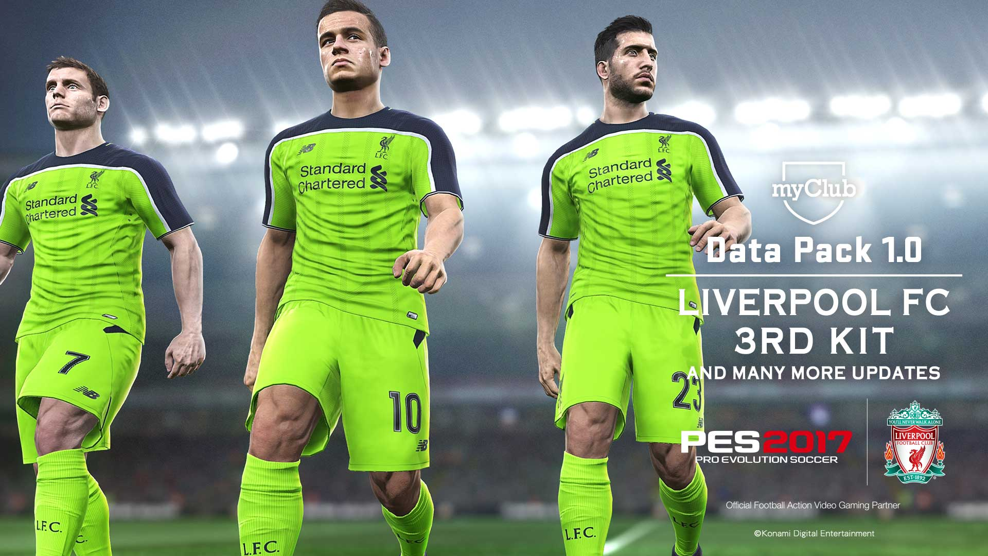 PES 2017' Patch 1 02 And Data Pack 1 Update Features New