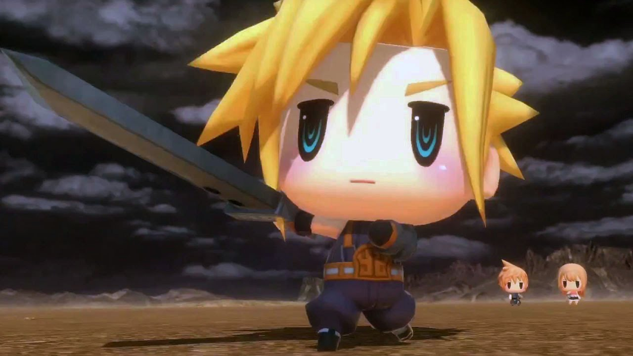 39 world of final fantasy 39 review if only all nostalgia games could be like this player one. Black Bedroom Furniture Sets. Home Design Ideas