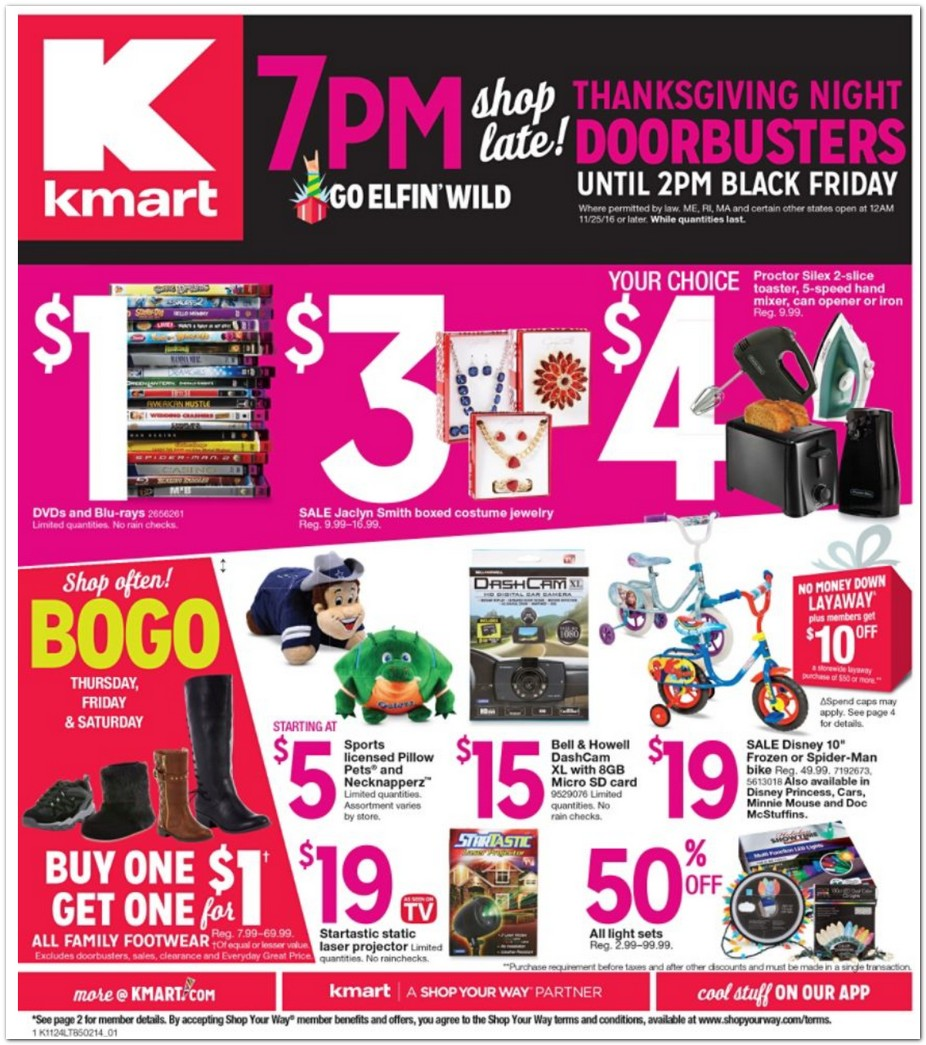 Black Friday Sales 2016 Store Hours Start Time For Target Walmart Best Buy Kmart JC Pennys And More