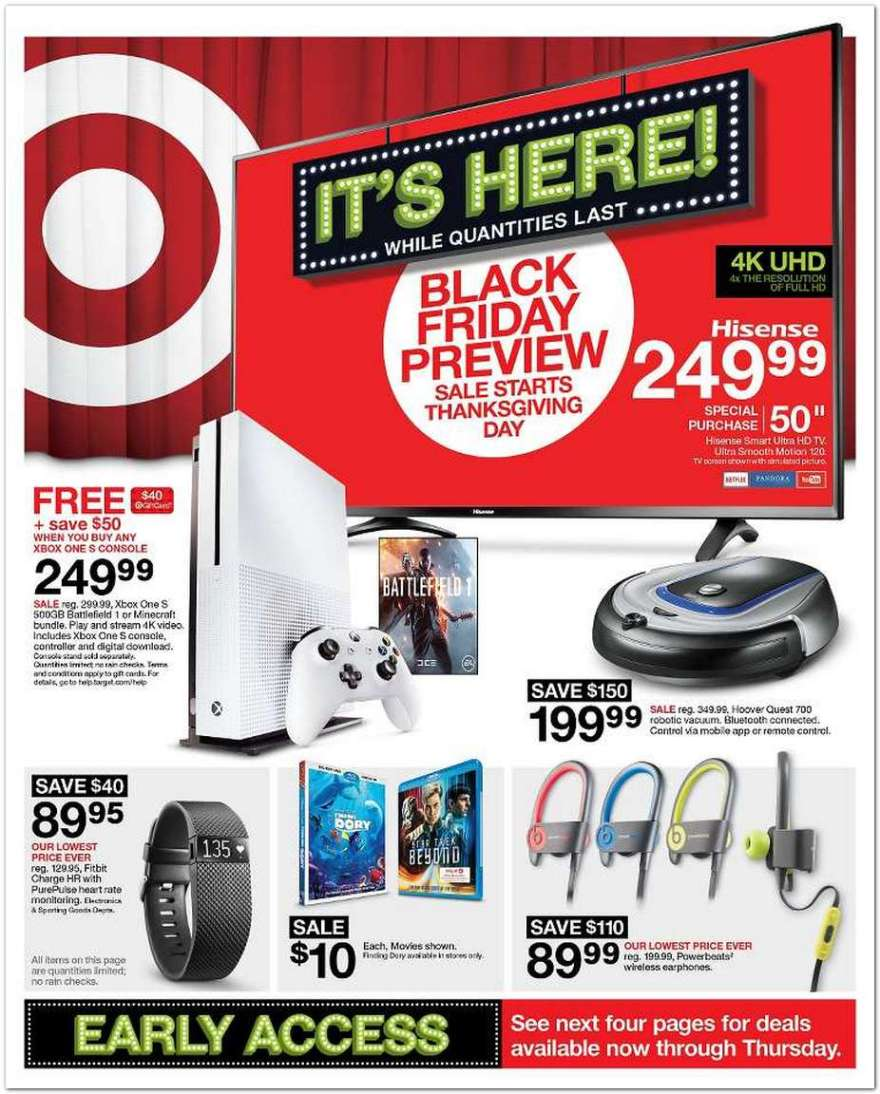 Black Friday Sales 2016: Store Hours, Start Time For Target, Walmart, Best  Buy, Kmart, JC Penny's And More | Player.One