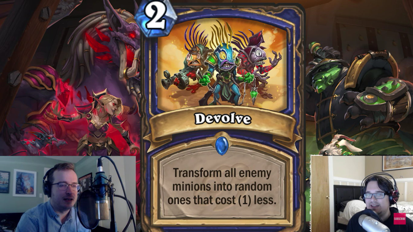 Hearthstone Mean Streets Of Gadgetzan Expansion Devolve And