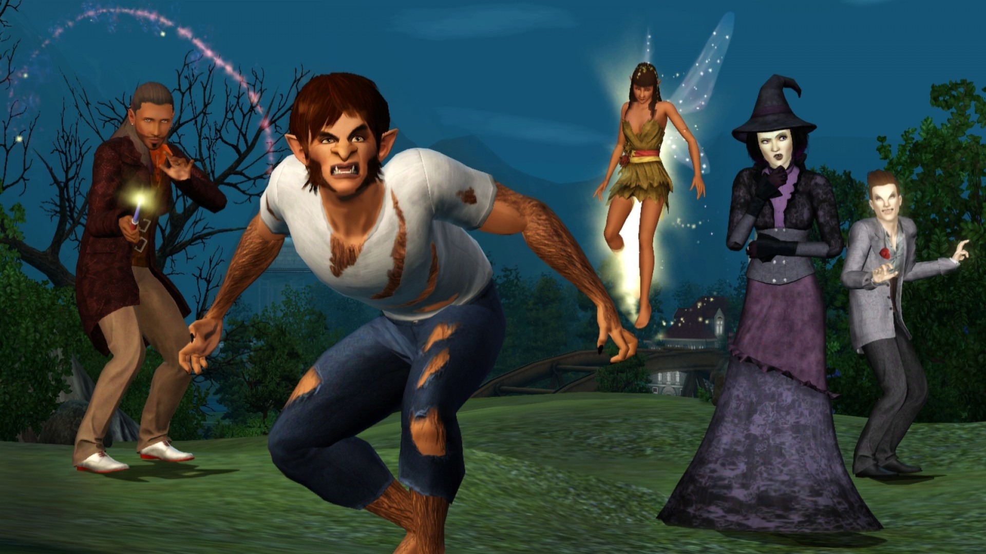 how to find a vampire in sims 2