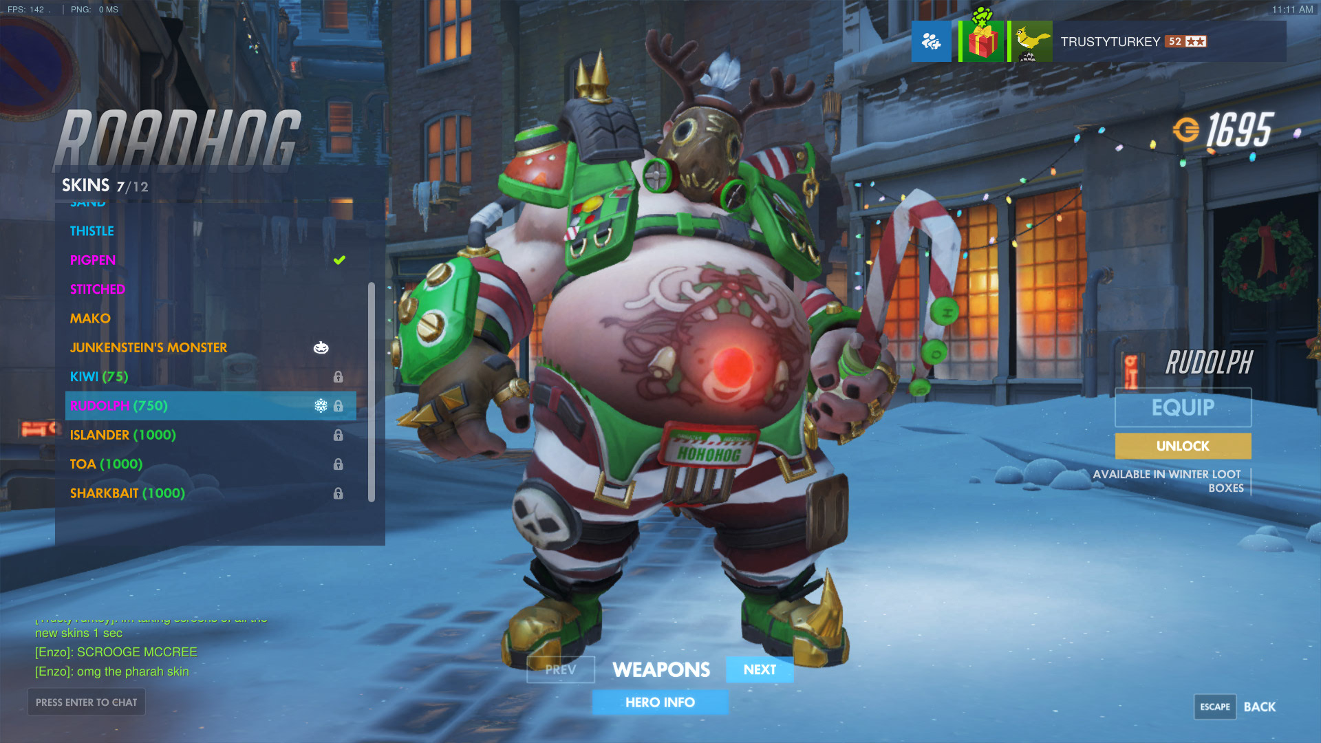 overwatch christmas skins winter wonderland patch is live here are all the merry skins playerone
