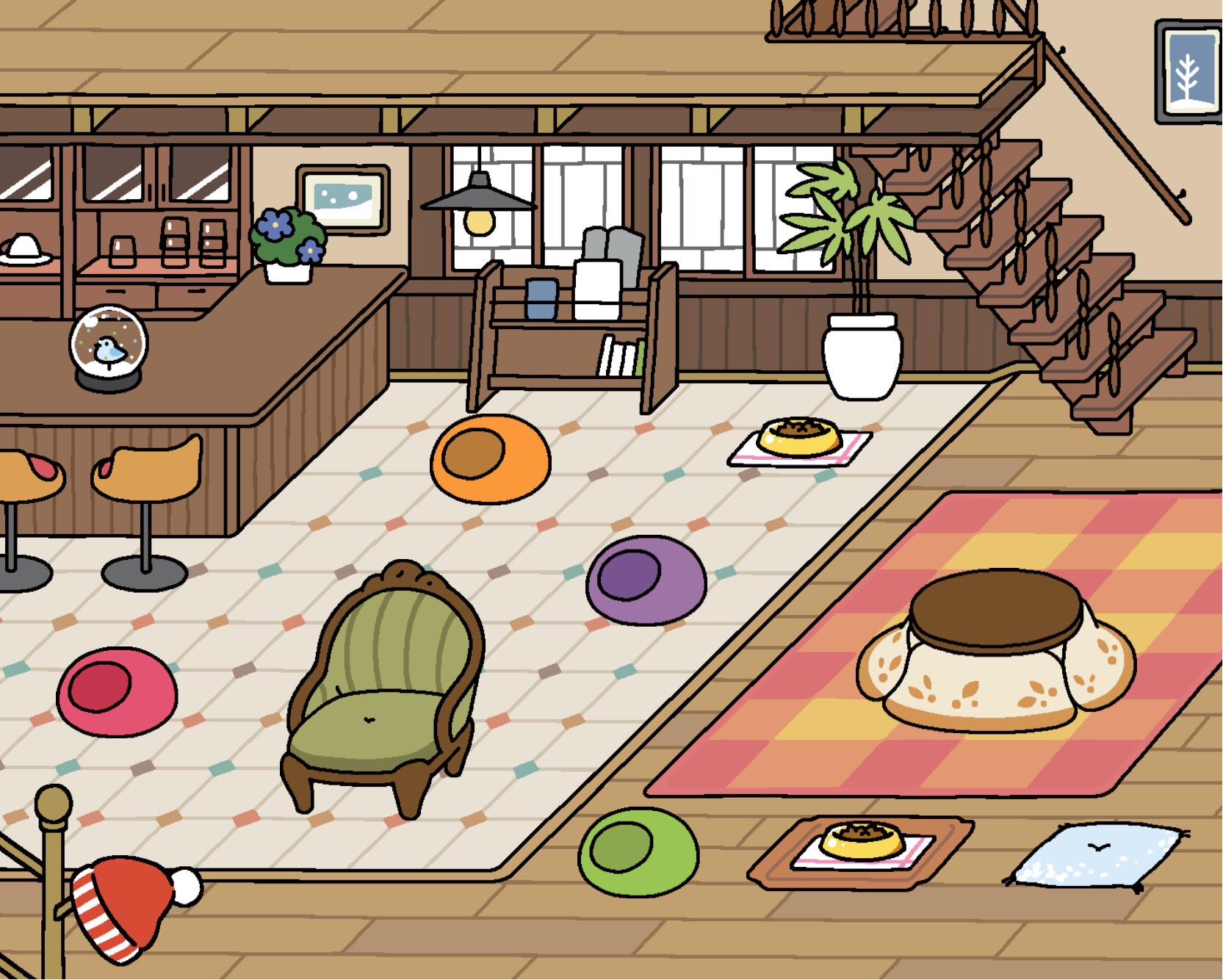 neko atsume update new rare cat whiteshadow plus 7 toys 3 wallpapers out now player one. Black Bedroom Furniture Sets. Home Design Ideas