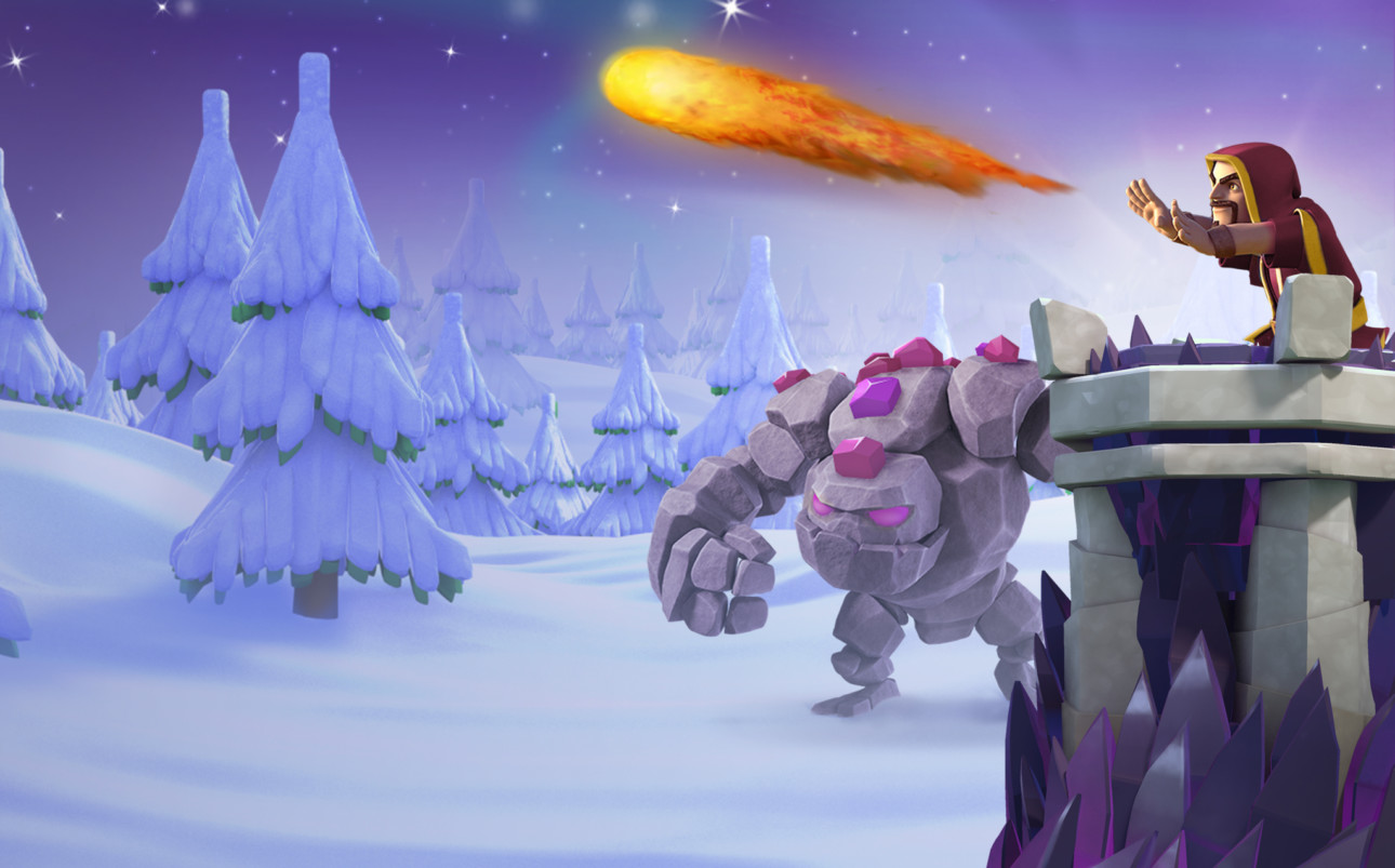 Clash Of Clans' Winter Update Sneak Peeks: Town Hall 11 Attack ...