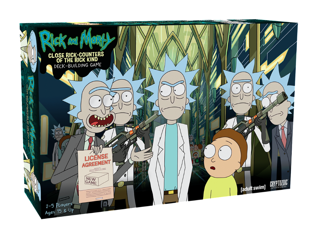 Two Rick And Morty Board Games Announced At Ny Toy Fair Player