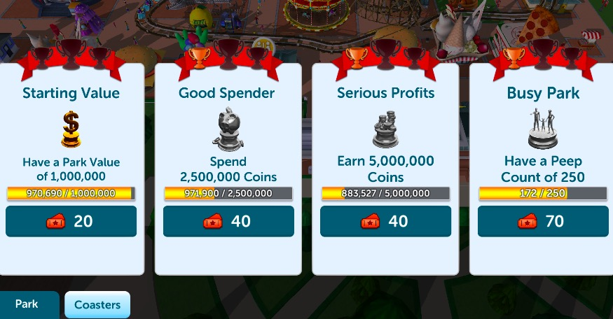 RollerCoaster Tycoon Touch' Cheats: Tips For Getting More Tickets