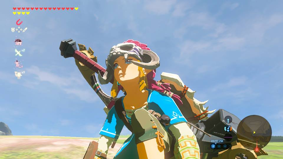 Breath Of The Wild Barbarian Armor Location And How To