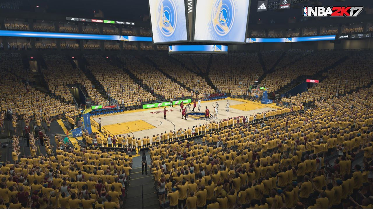 'NBA 2K17' Playoff Simulation Predicts Golden State Warriors Will Championship | Player.One
