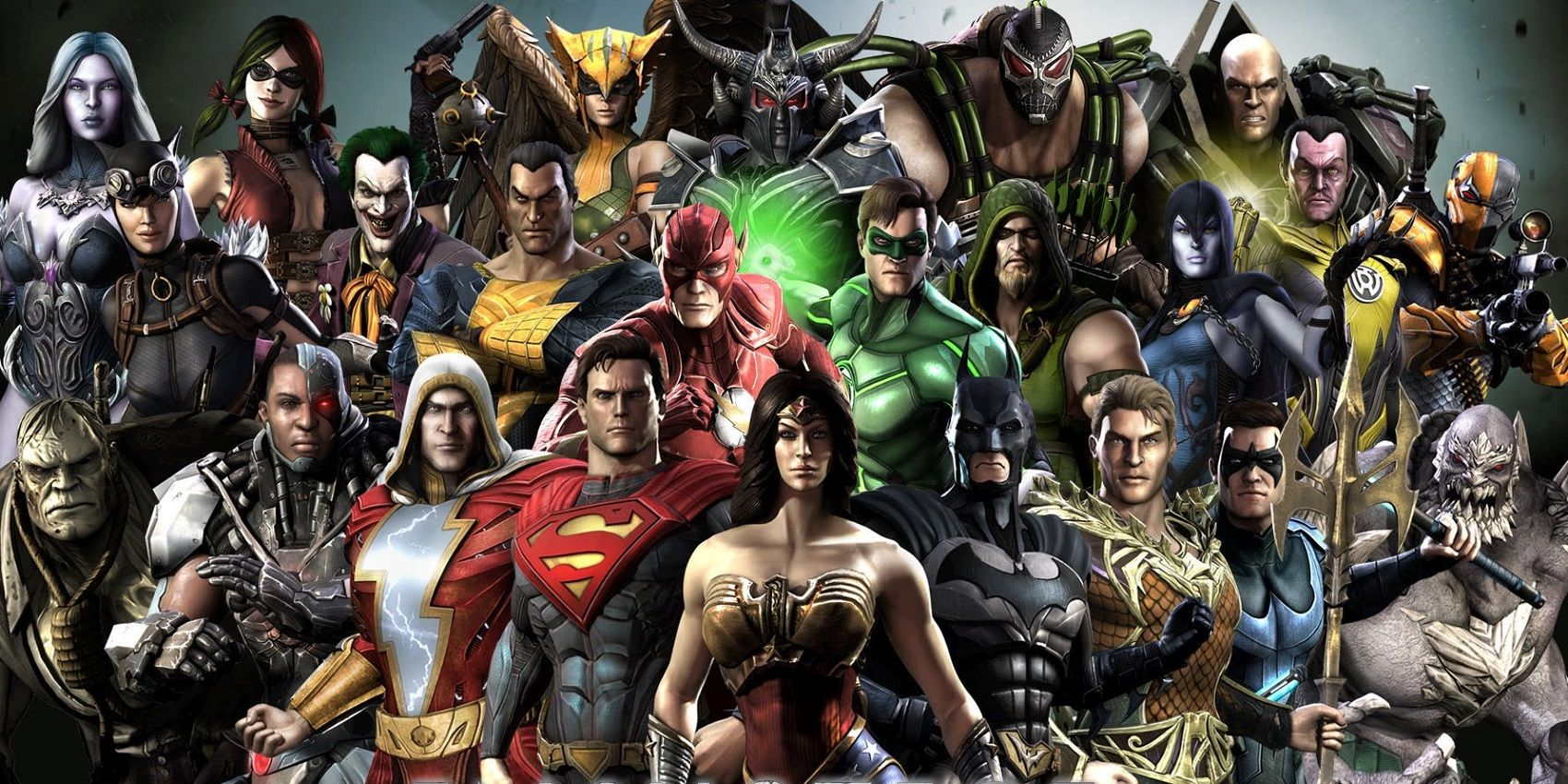injustice 2 character roster complete list of mobile and console