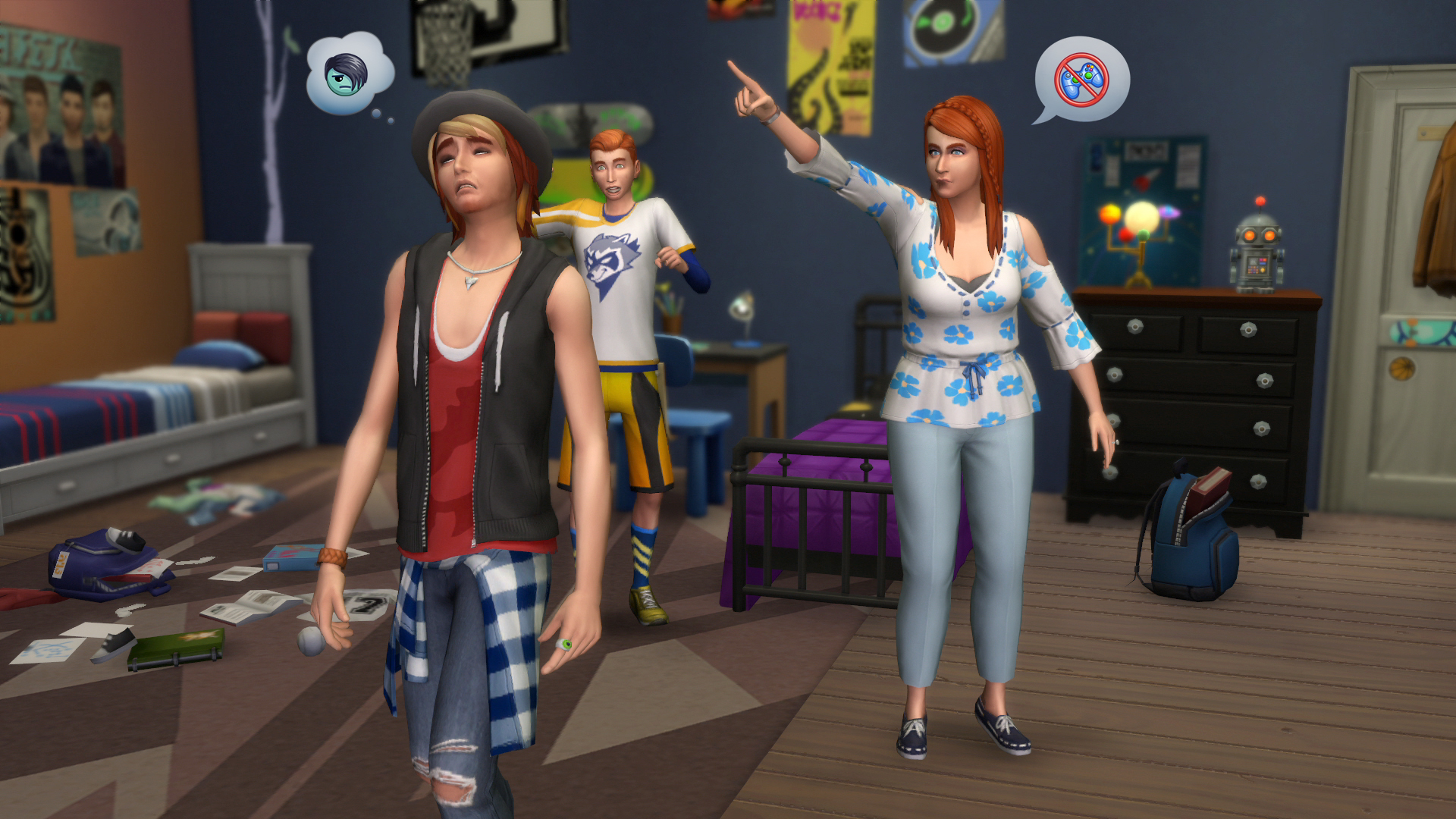 Sims 4 Parenthood Trailer Explains Character Value