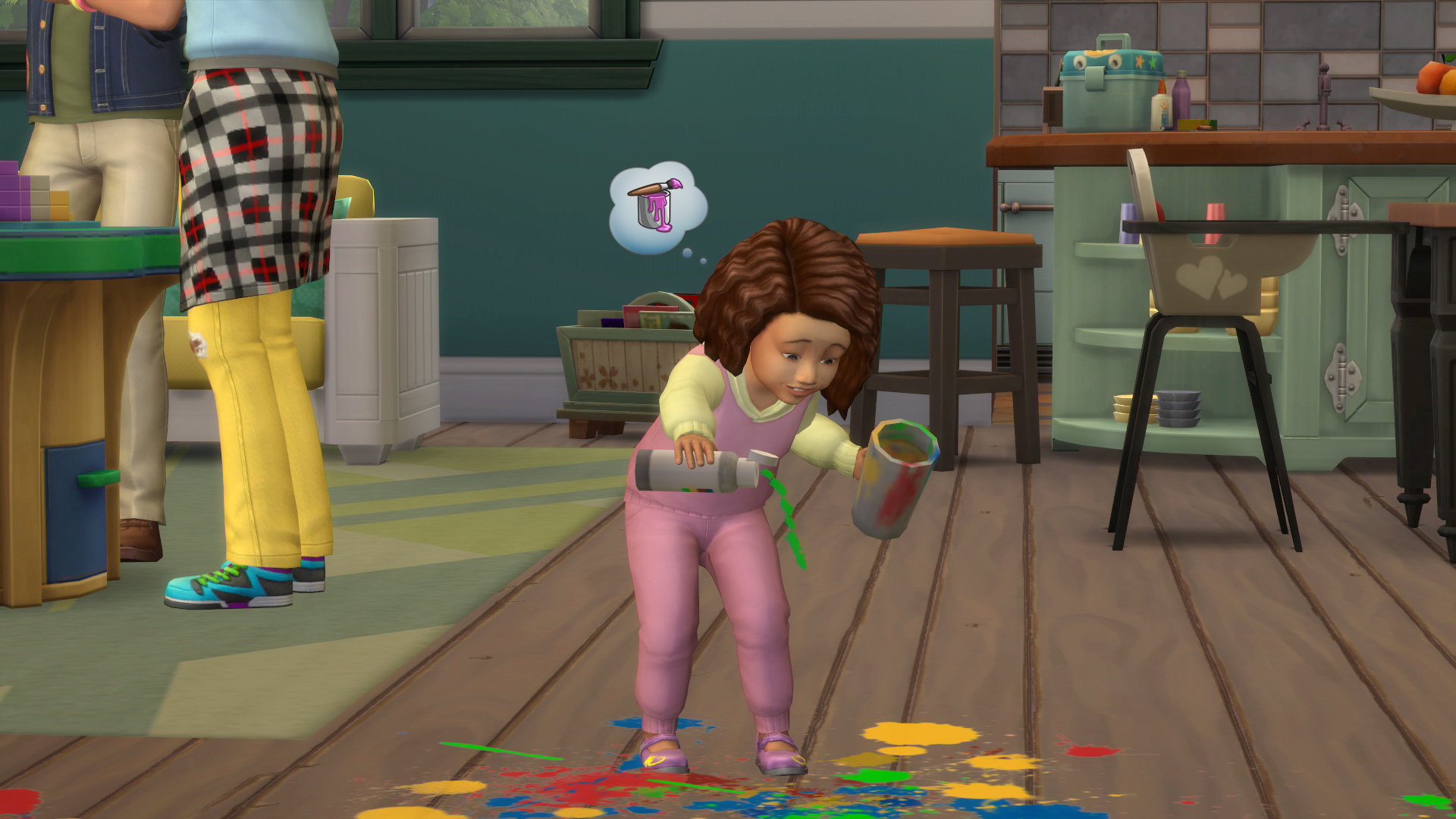 Sims 4 Quarterly Teaser Confirms Toddlers Dlc Players