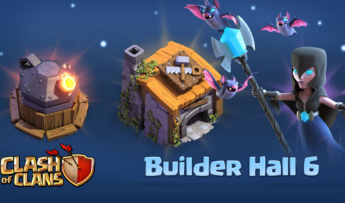 Clash Of Clans Builder Hall 6 Update Released With Night ...