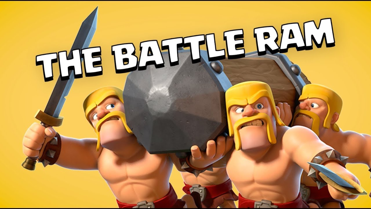 Clash Of Clans Anniversary Update Adds New Battle Ram Troop Removes