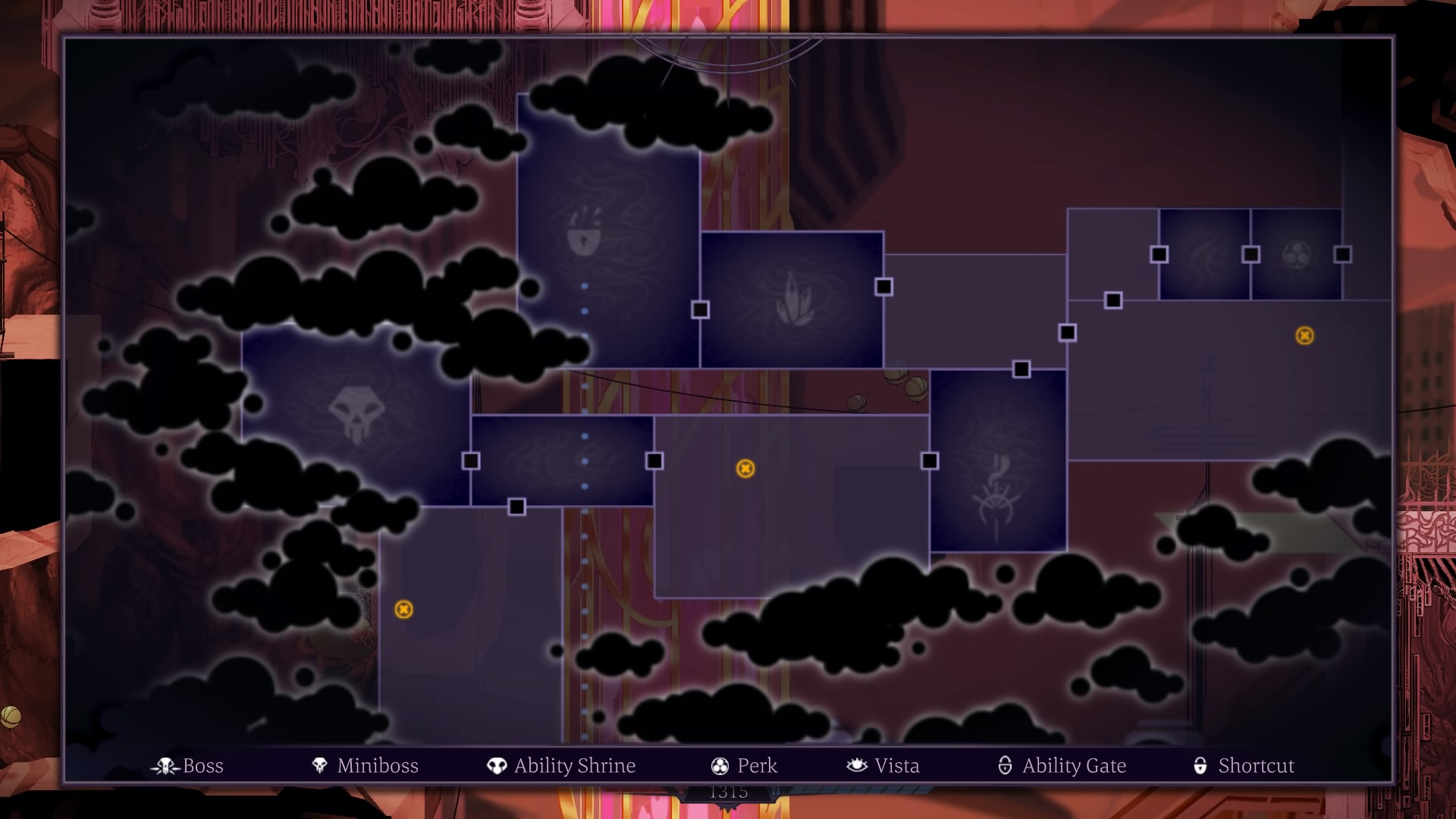 Image result for Sundered map screen