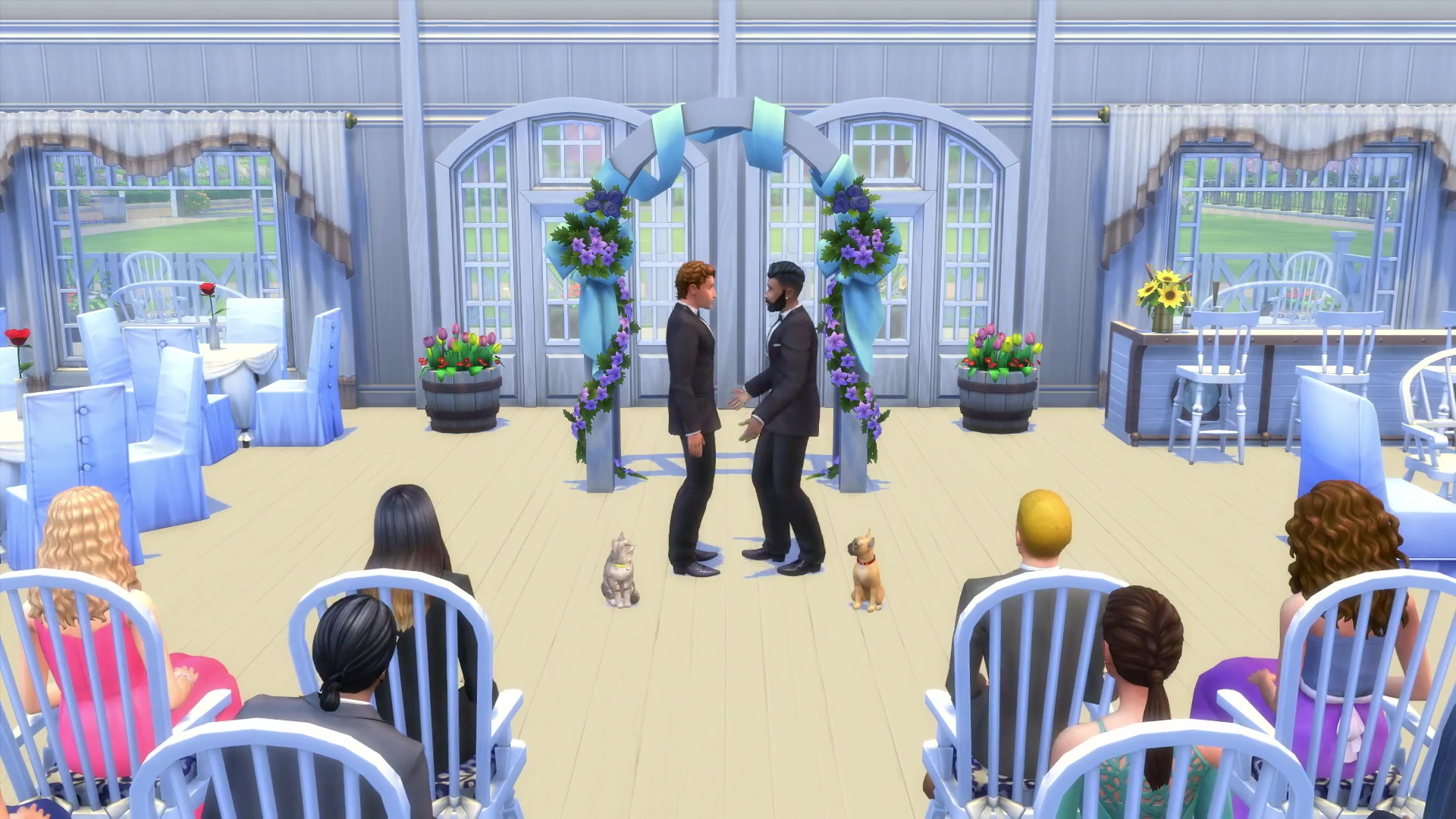 Sims 4: Cats & Dogs Has Foxes, Raccoons And First Preset