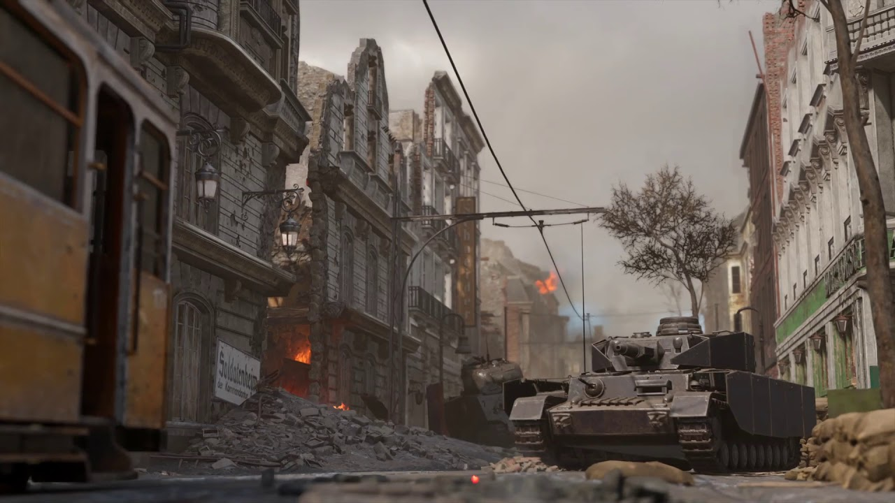 Call Of Duty WWII Aachen Map Revealed Along With Beta Week 2